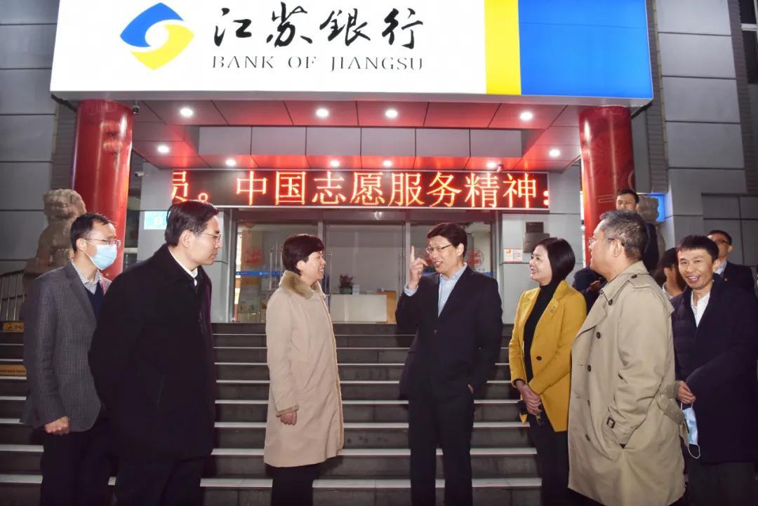 蒋敏、崔荣国带队走访财税年终决算单位